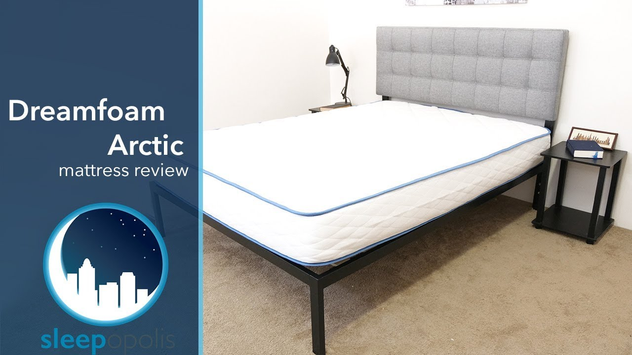 Dreamfoam Arctic Dreams Mattress Review Youtube