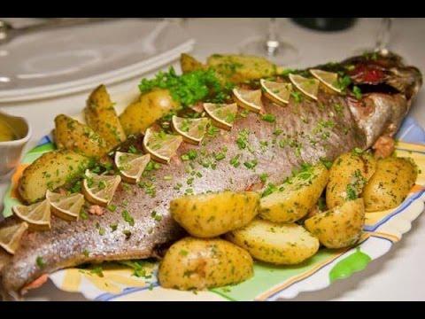 Сайда запеченая в духовке (Saida baked in the oven)