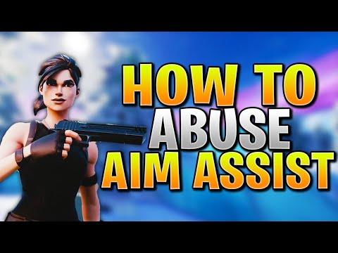 How To Abuse Aim Assist + Improve Aim In Fortnite PS4/Xbox! (Fortnite Controller Aim Guide)