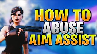 How To Abuse Aim Assist + Improve Aim In Fortnite PS4/Xbox! (Fortnite Controller Aim Guide)