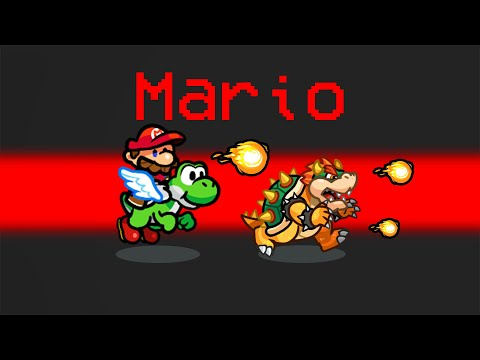 *NEW* MARIO Role in Among Us (Funny)