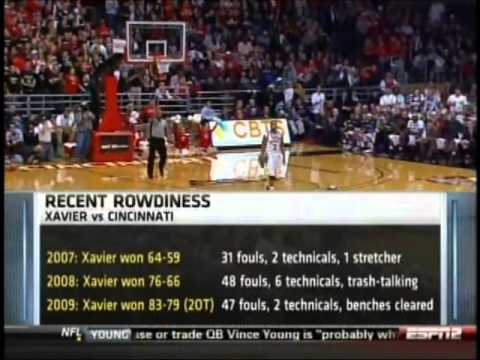 Cincinnati Bearcats vs. Xavier Musketeers 2010-2011