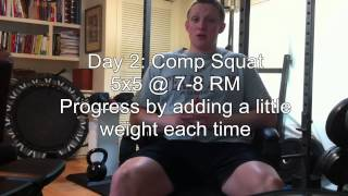 Short Explaination of DUP + Quick Example of an Intermediate Squat Template