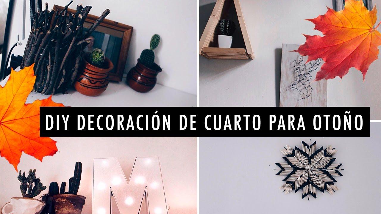 Diy decoraci n de cuarto para oto o inspirados en tumblr for Decoracion para pared de cuarto