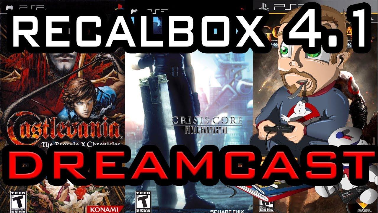 roms dreamcast recalbox