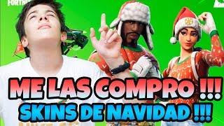 I BUY NEW CHRISTMAS SKINS *FORTNITE SPECIAL OPERATIONS PONCHE AND MONTARAZ NAVIDEO