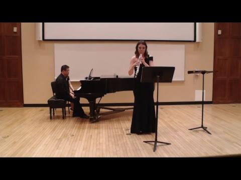 Emily Hollingworth, Oboe Recital (5/5/2018)