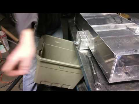 Aluminum tank leak and flow test -8 an