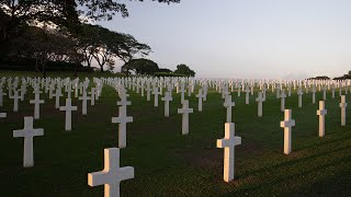 With more than 17,000 service members laid to rest on these honored grounds, the manila american cemetery, philippines, is largest military ceme...
