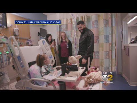 Drake Visits 11-Year-Old Girl Awaiting Transplant At Chicago Hospital