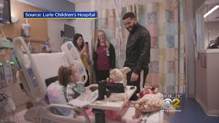 Drake Visits 11-Year-Old Girl Awaiting Transplant At Chicago Hospital