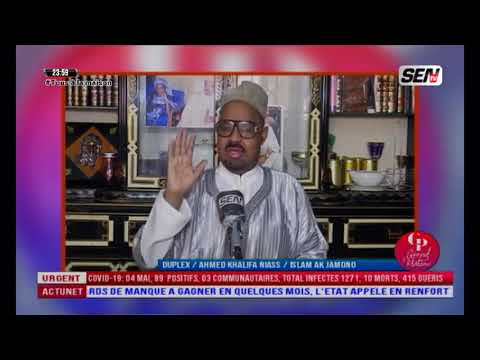 Ahmed Khalifa Niasse: