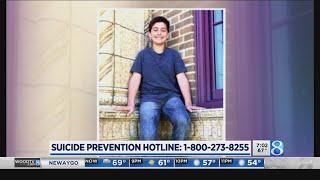 Parents fight stigma after son's suicide