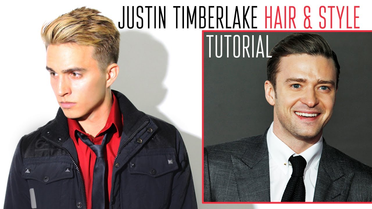 Justin Timberlake Hair Style By Dre Drexler Youtube