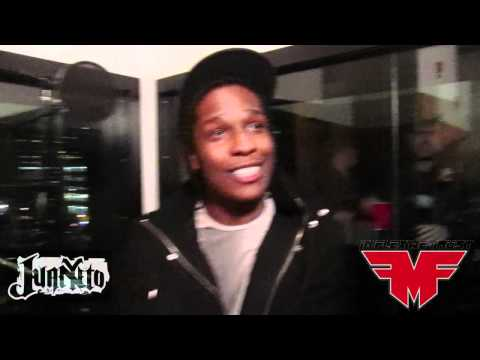 IFWT Asap Rocky Interview & Listening Session