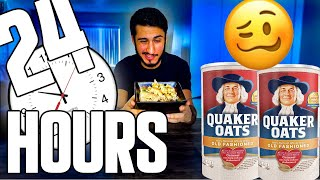 Gambar cover I only ate plain Oatmeal for 24 hours of my life...