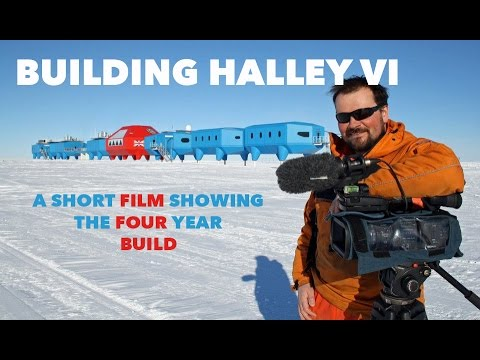Building Halley VI Research Station Antarctica.mp4