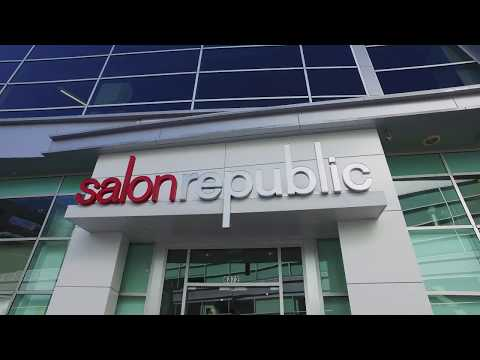 Salon Republic Hollywood Salon Tour