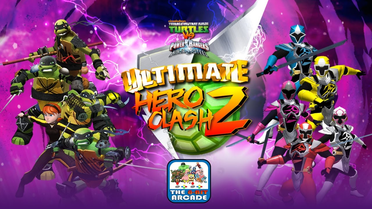 Tmnt Vs Power Rangers Ultimate Hero Clash 2 Climbing