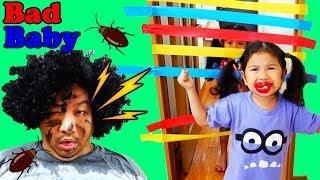 再アップ●普段遊び●スマホゲームに夢中のパパにイタズラしちゃえ!!まーちゃん【6日歳】おーちゃん【4歳】#661 thumbnail