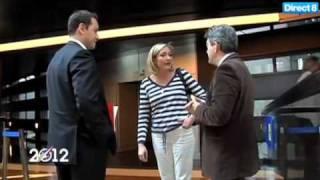 Quand Jean-Luc Mélenchon croise par hasard Marine Le Pen