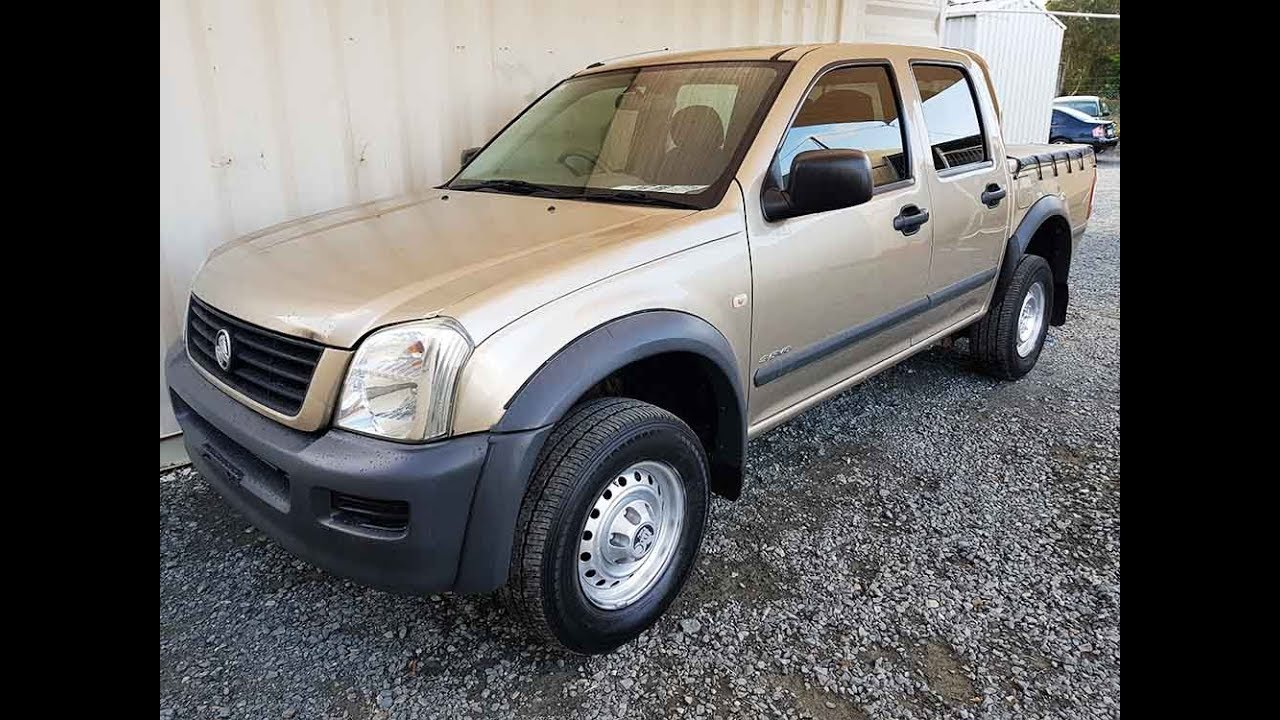 hight resolution of holden rodeo 4x2 manual cheap 2005