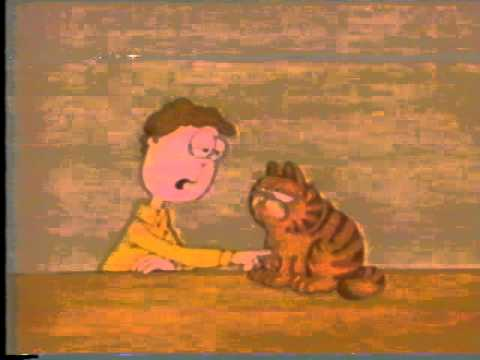 Original Garfield Animation Circa 1980 Youtube