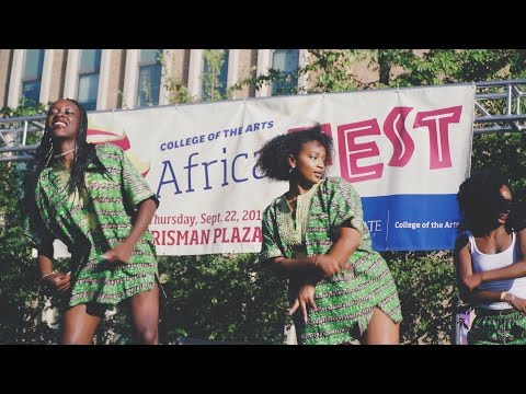 Fall for the Arts: Africa Fest
