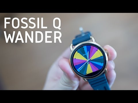 aebec449f2ff Fossil Q Wander Android Wear
