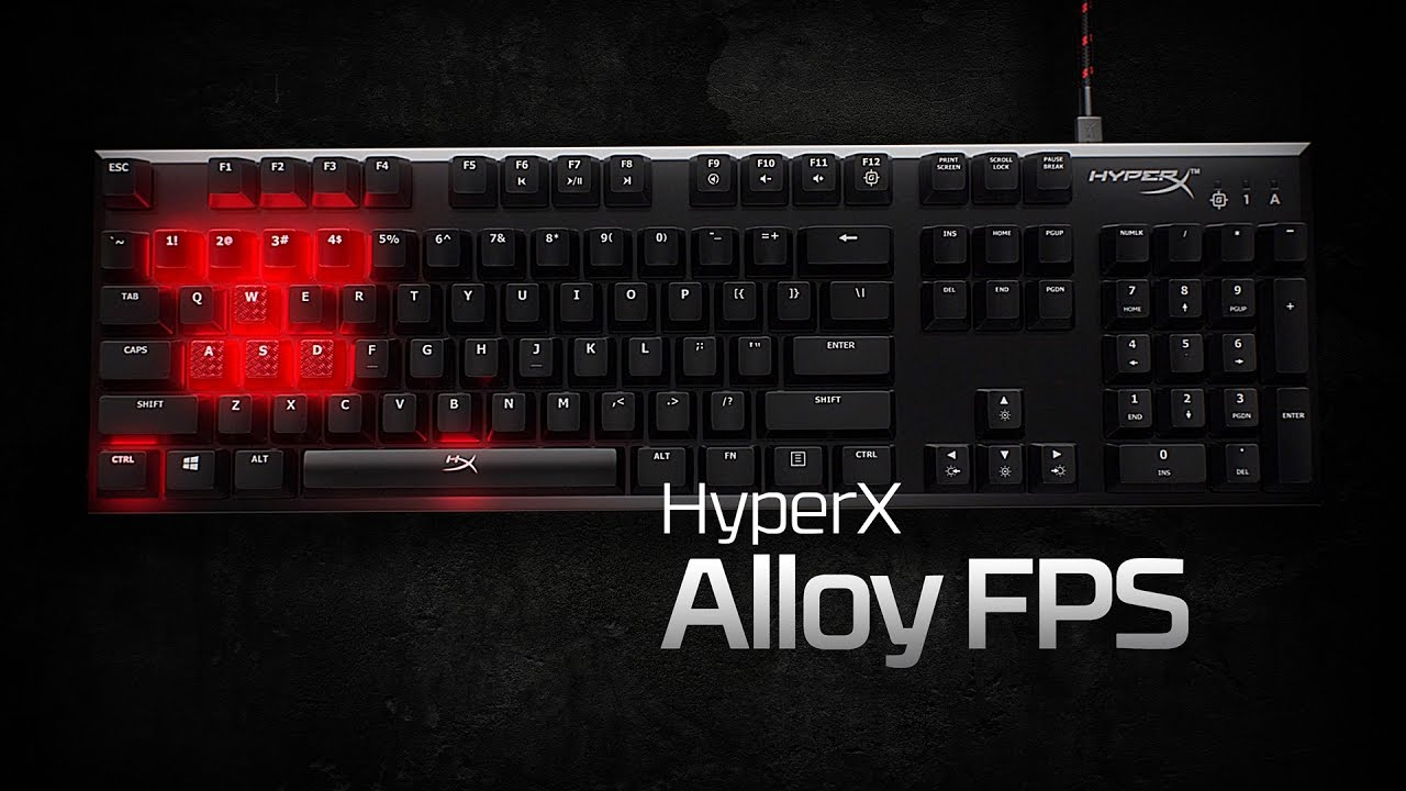 HyperX Alloy Elite VS Alloy FPS Keyboard Review with sound test .