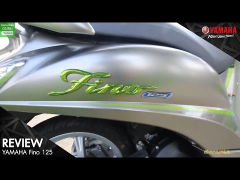 [Yamaha Review] - Checkraka : [รีวิว] Review ยามาฮ่า ฟีโน่ (Yamaha Fino 125) สีใหม่…แนวใหม่ ใช่สุด!!