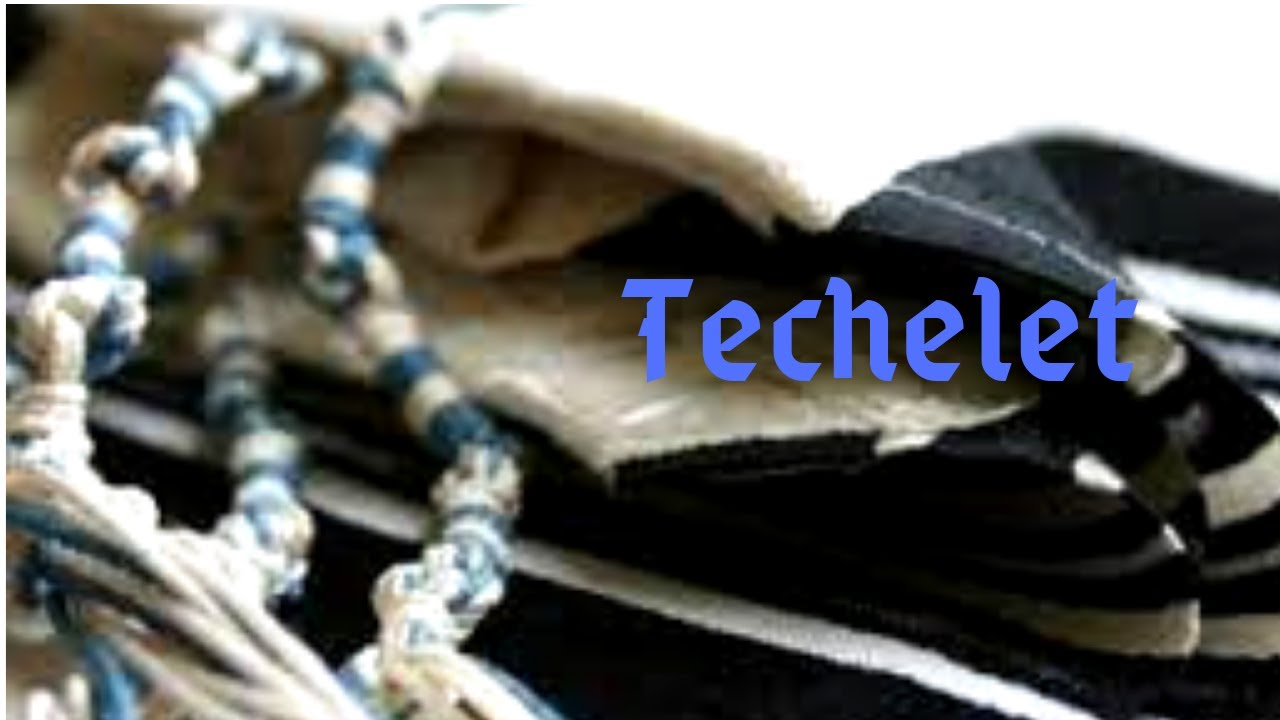 R. Danny Myers 'The position of Rav Elyashiv on Techelet' Techelet #7