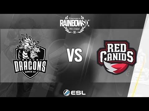 Rainbow Six Pro League - Season 7 - LATAM - Black Dragons vs. RED Canids - Week 1