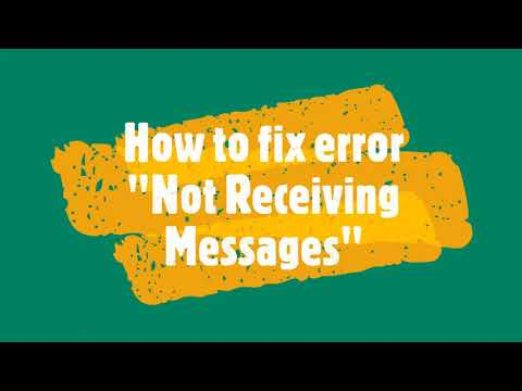 Not receiving messages on Android Device