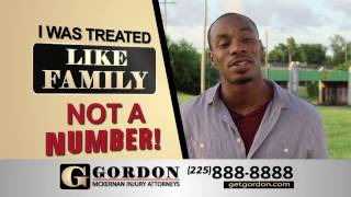 Baton Rouge Car Wreck Attorney - Not A Number | Gordon McKernan Injury Attorneys