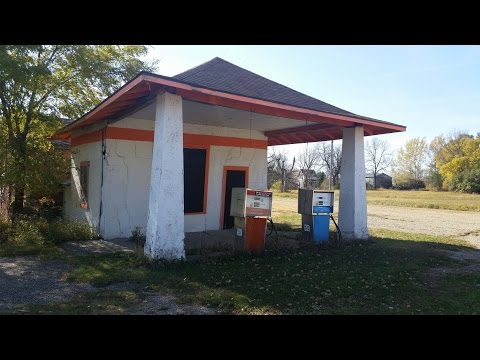 Abandoned South Dakota Farm Town