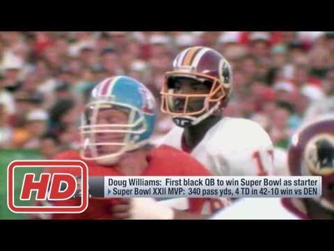 NFL 2017 video : Doug Williams reflects on impact of winning Super Bowl XXII | Feb 23, 2017