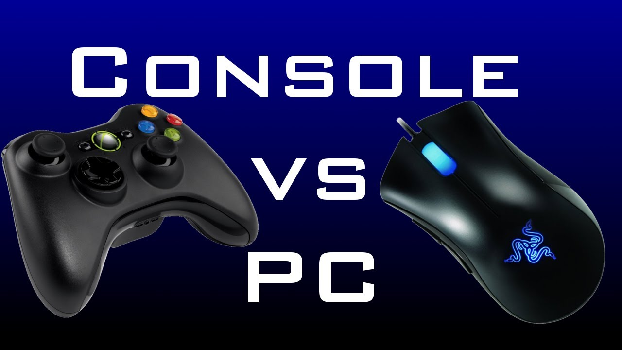 pc vs console In some ways, yes you have to understand that consoles don't have to deal with a lot of the overhead associated with a pc, so basicly they can do much more with much less.