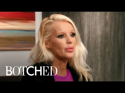 Blonde Bombshell's Breast Surgery Threatens Her Life  Botched  E!