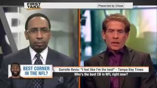 Who's Better   Darrelle Revis vs  Richard Sherman      ESPN First Take
