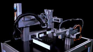 Kompakt und kostengünstig: Das Mehrachssystem für die Batteriefertigung