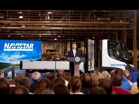 President Obama Announces Recovery Grants in Wakarusa, Indiana