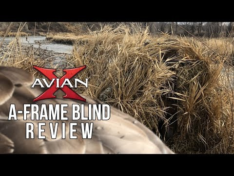Avian-X A-frame Blind Review - Portable Duck Blind