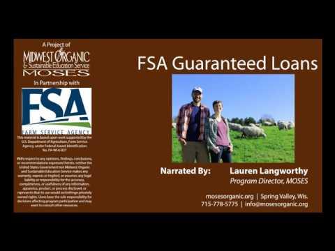 FSA Guaranteed Loans