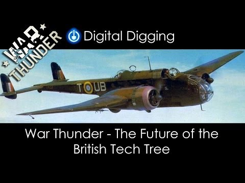 War Thunder - The Future of the British Tech Tree (Or 33 planes in 9 minutes and 28 seconds)