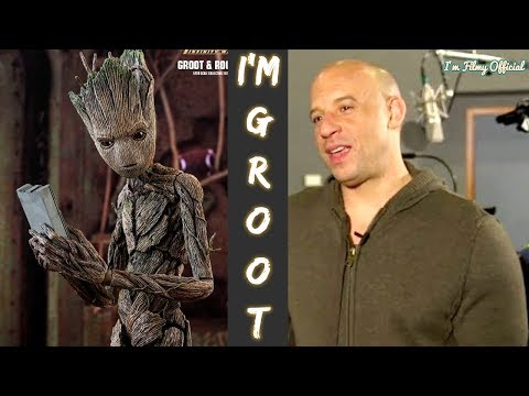 Making of Groot  Behind the s and VFX  Vin Diesel I'm Groot  2018