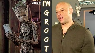 Making of Groot - Behind the Scenes and VFX - Vin Diesel I'm Groot - 2018