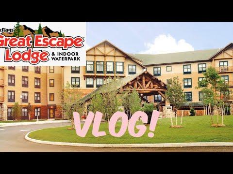 Six Flags Great Escape Lodge Vlog | LifeAsAndrea March 21-23 2019