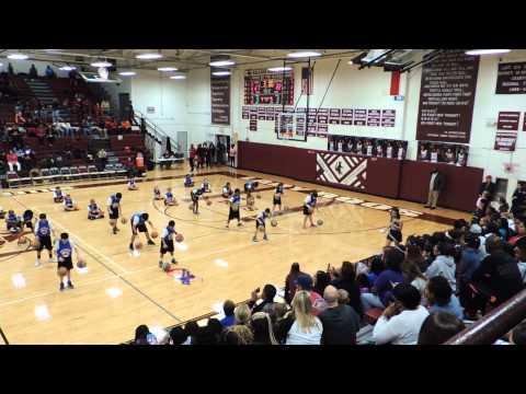 Peebles Elementary School Teams Of Tomorrow TOTS Halftime Show Killeen, Texas 2-6-15