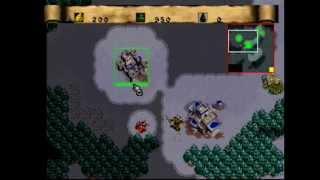 Sega Saturn - Warcraft 2: The Dark Saga (Human Mission 1)